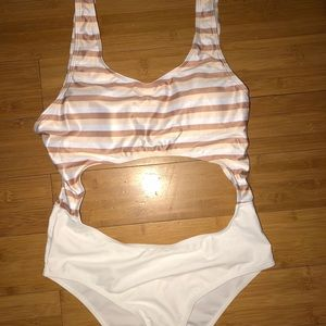 One piece bathing suit brand new